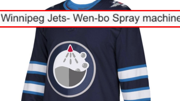A hockey fan made jerseys for some of the unique translated NHL team names  from Chinese Wikipedia - Article - Bardown 379248f80a2