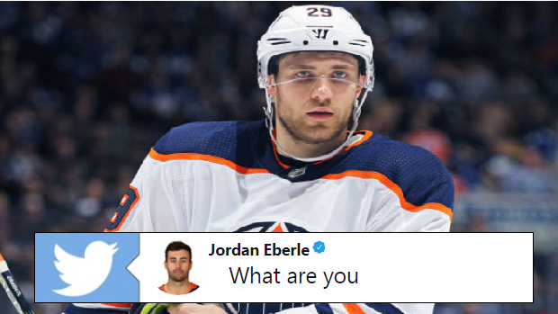 super popular af61d 7ba9a Jordan Eberle and Leon Draisaitl had a fantastic Twitter ...