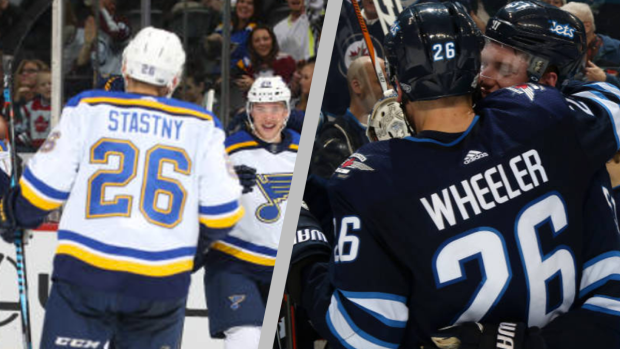 Blake Wheeler And Jets Newcomer Paul Stastny Were Extremely Polite In Working Out Who Will Keep 26 Article Bardown