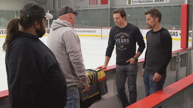 cheap for discount e899f 270ca Marc-Andre Fleury appears on 'Pawn Stars' to confirm ...