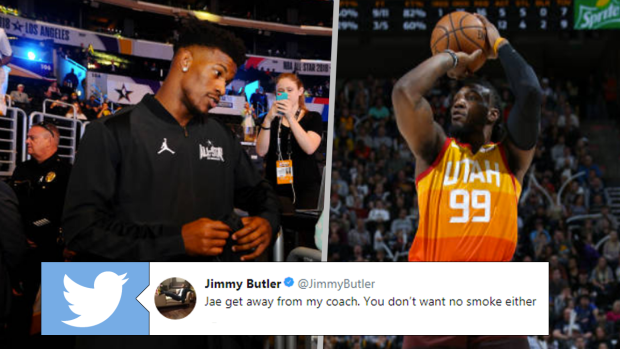 Jimmy Butler Calls Out Multiple Jazz Players Jae Crowder Responds With Odd Provoking Tweets Article Bardown