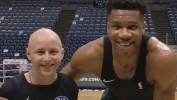 Matthew and Giannis Antetokounmpo
