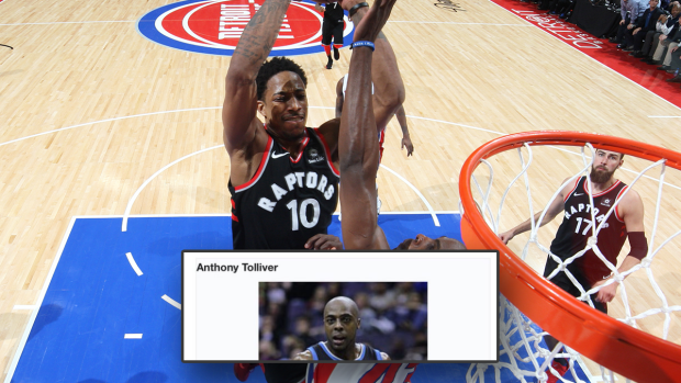 Fans keep editing Anthony Tolliver's Wikipedia page after