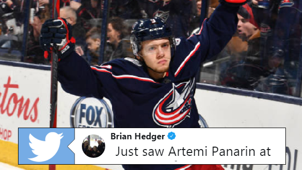 ebb61401e7c Everyone can relate to the move Artemi Panarin pulls off at coffee ...