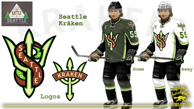 Image result for seattle nhl concept jerseys