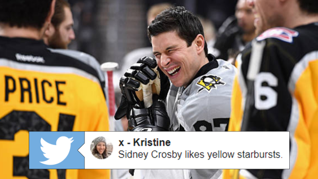 in response to sidney crosby receiving misguided chirps fans