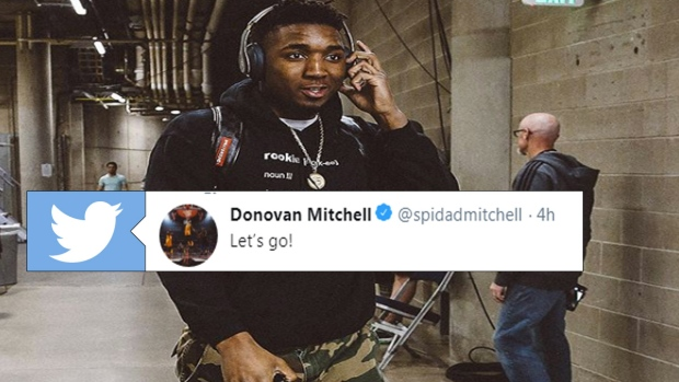 Donovan Mitchell Used His Hoodie To Remind Everyone Why He Deserves