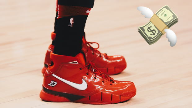 best website 260ce dee50 The limited edition Nike DeRozan shoes are now going for ...