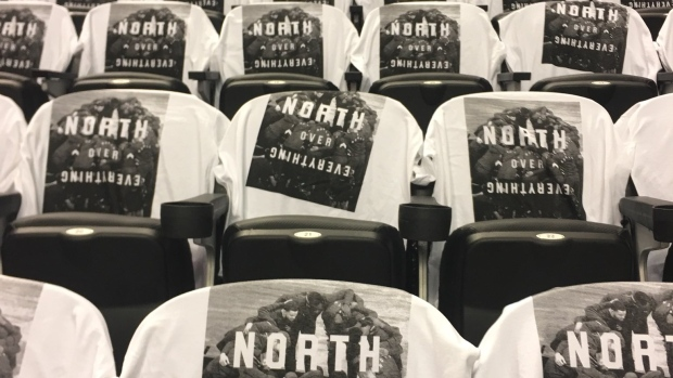Raptors t-shirt giveaways