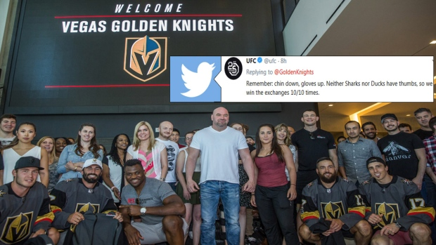 UFC and Vegas Golden Knights