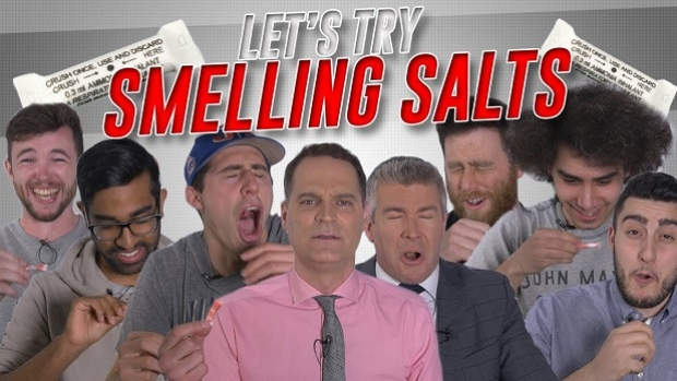 Employees Try Smelling Salts For The First Time And The Reactions Were Hilarious Article Bardown