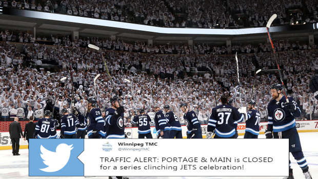 Internet Reacts To Winnipeg Jets Advancing To The Second Round Of The Playoffs Article Bardown