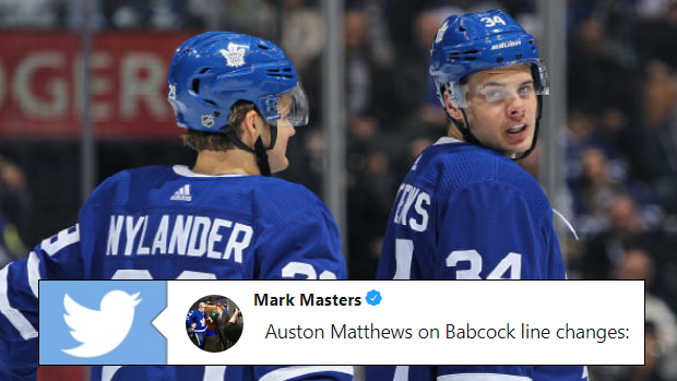 Matthews Nylander Shared Some Interesting Thoughts On The Leafs New Lines For Game 5 Article Bardown