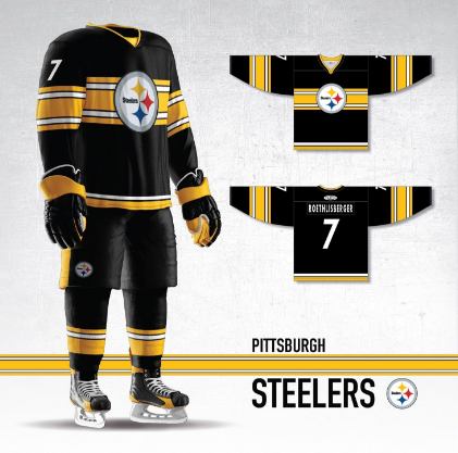 These Pittsburgh Steelers concept hockey jerseys are unreal ... 75bed732bf5