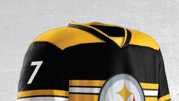 3b5eb6f4d9c These Pittsburgh Steelers concept hockey jerseys are unreal - Article -  Bardown
