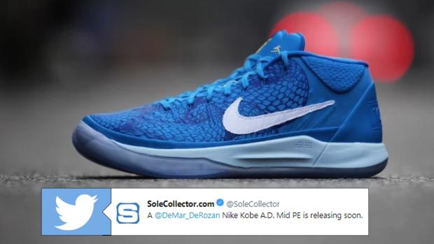 big sale 4d85c 30c49 Nike will be releasing customized DeMar DeRozan Kobe A.D. ...