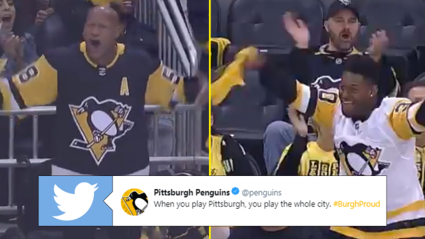 Pens Crowd Loses It For The Inspirational Ryan Shazier And The