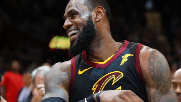 "online retailer fa2d4 1ff9e ... This ""God s Plan"" parody video reimagines the song s lyrics from LeBron  James ... lebron james nike commercial ..."