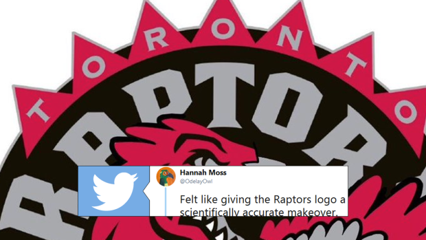 purchase cheap 4d7bc 7eaf6 An artist recreated the Raptors' logo to make it ...