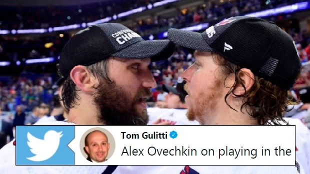 Alex Ovechkin and Nicklas Backstrom.