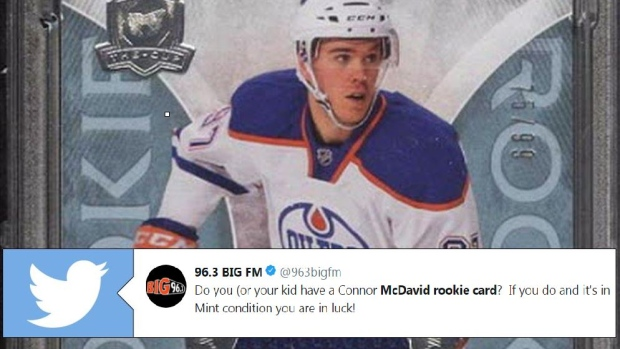 Connor Mcdavids Rookie Card Breaks Records With Absurd