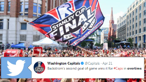 Washington Capitals Fans