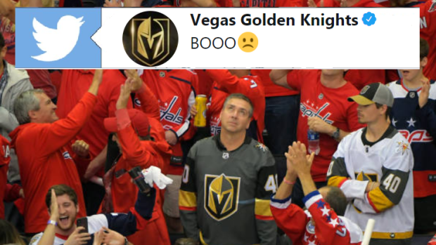 Golden Knights Fans at Capital One Arena