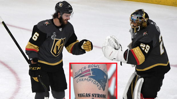 cbaed90a8 This Golden Knights fan could really regret the Stanley Cup champions  tattoo he got - Article - Bardown