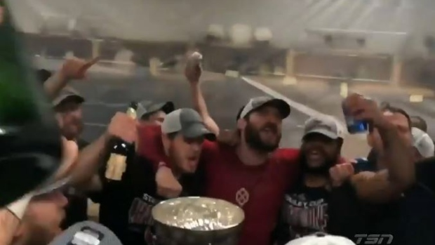 Capitals Celebrate By Singing 'We Are The Champions' In The Locker Room