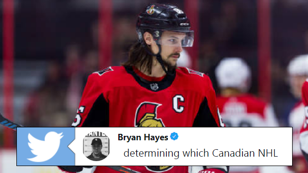 All Hockey Fans Will Agree With Bryan Hayes Recent Tweet About Canadian Nhl Teams Article Bardown