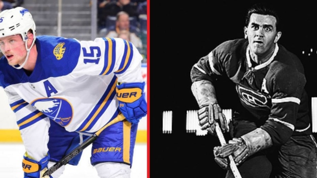Jack Eichel s upcoming number change has interesting historical coincidence  - Article - Bardown ccb22fe68