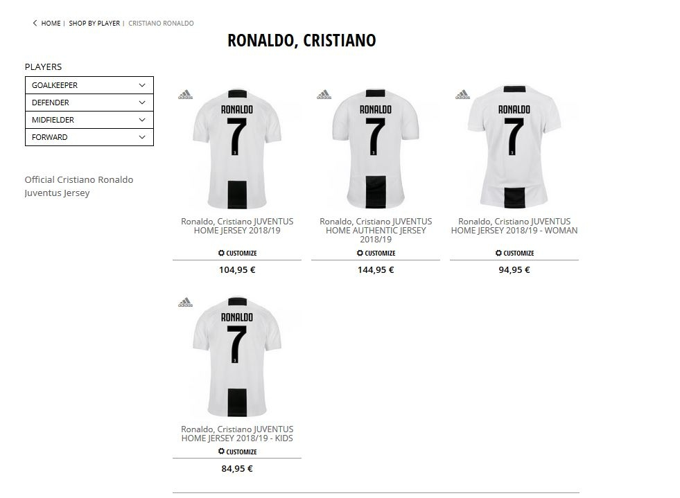 415ad2c06 Juventus  online store crashed for nearly 9 hours after Ronaldo s ...