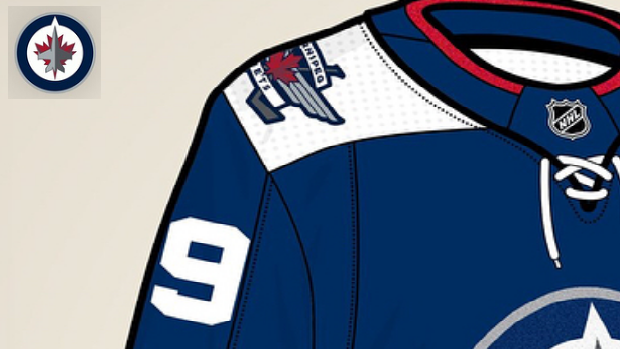 reputable site 37a51 9cae2 Incredible Winnipeg Jets Jersey concept perfectly ...