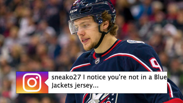 Panarin posted a video wearing a non-Columbus jersey and fans are  overreacting - Article - Bardown c3bdd443e