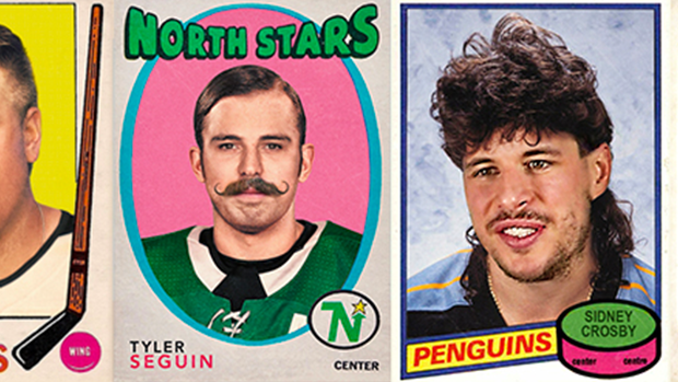19bc451093ba A designer gave current NHL players vintage flow and facial hair - Article  - Bardown