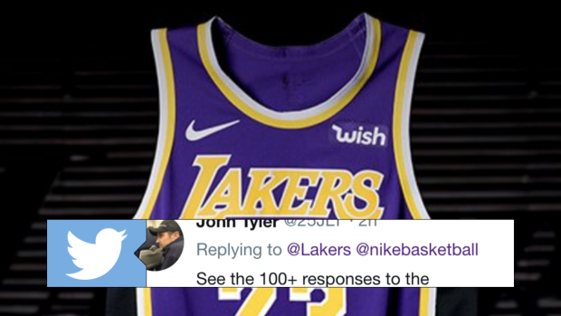 One Detail About One Of The Lakers New Jerseys Made Basketball Fans Furious Article Bardown