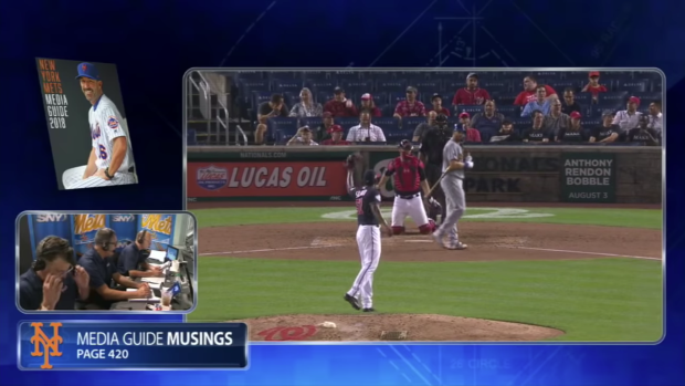 The Mets lost by so much that their broadcasters began