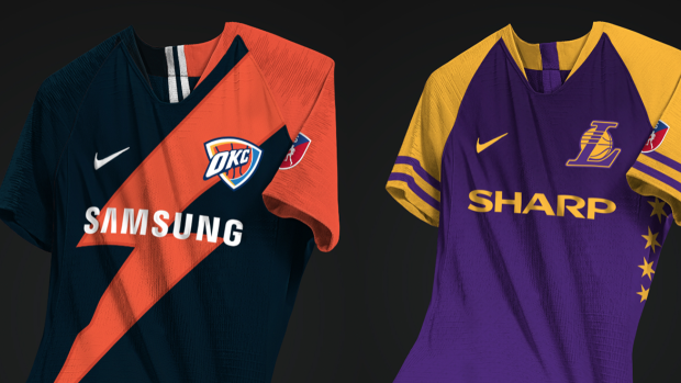 be70d4e39330 A graphic designer created soccer jerseys for NBA teams and they re  absolutely spectacular - Article - Bardown