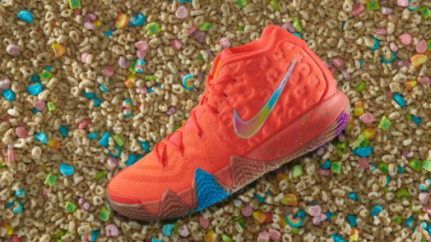 detailed look a7f0e 745c7 Kyrie Irving releases a 'cereal' pack of custom Nikes ...