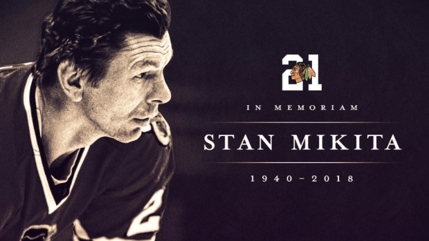 The sports world mourns the loss of NHL legend Stan Mikita - Article -  Bardown 10b017f00