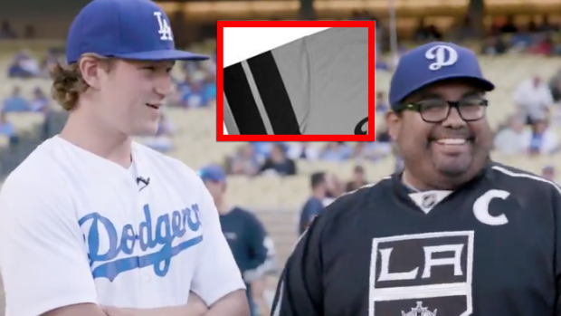 21967841 The Dodgers are giving away these incredible Kings mashup jerseys on Kings  night - Article - Bardown