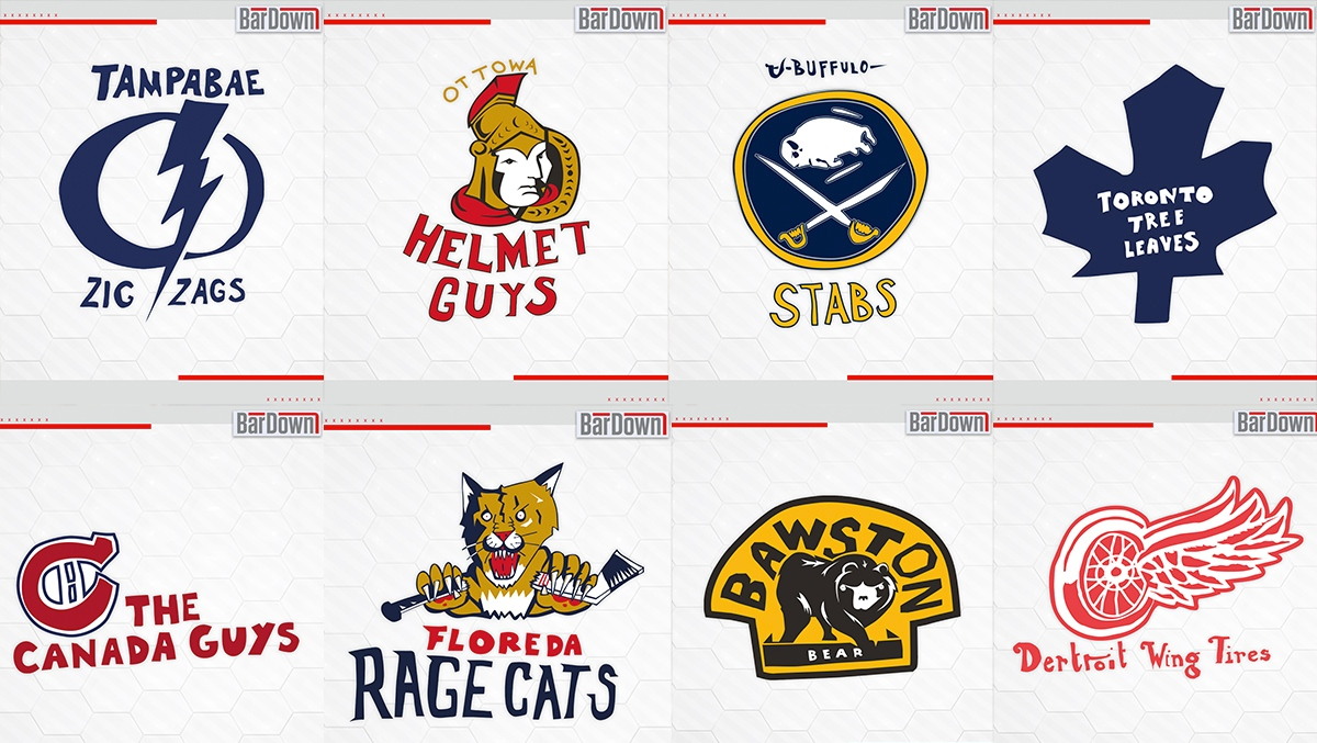958b5526c Alternative logos for all 31 NHL teams - Article - Bardown