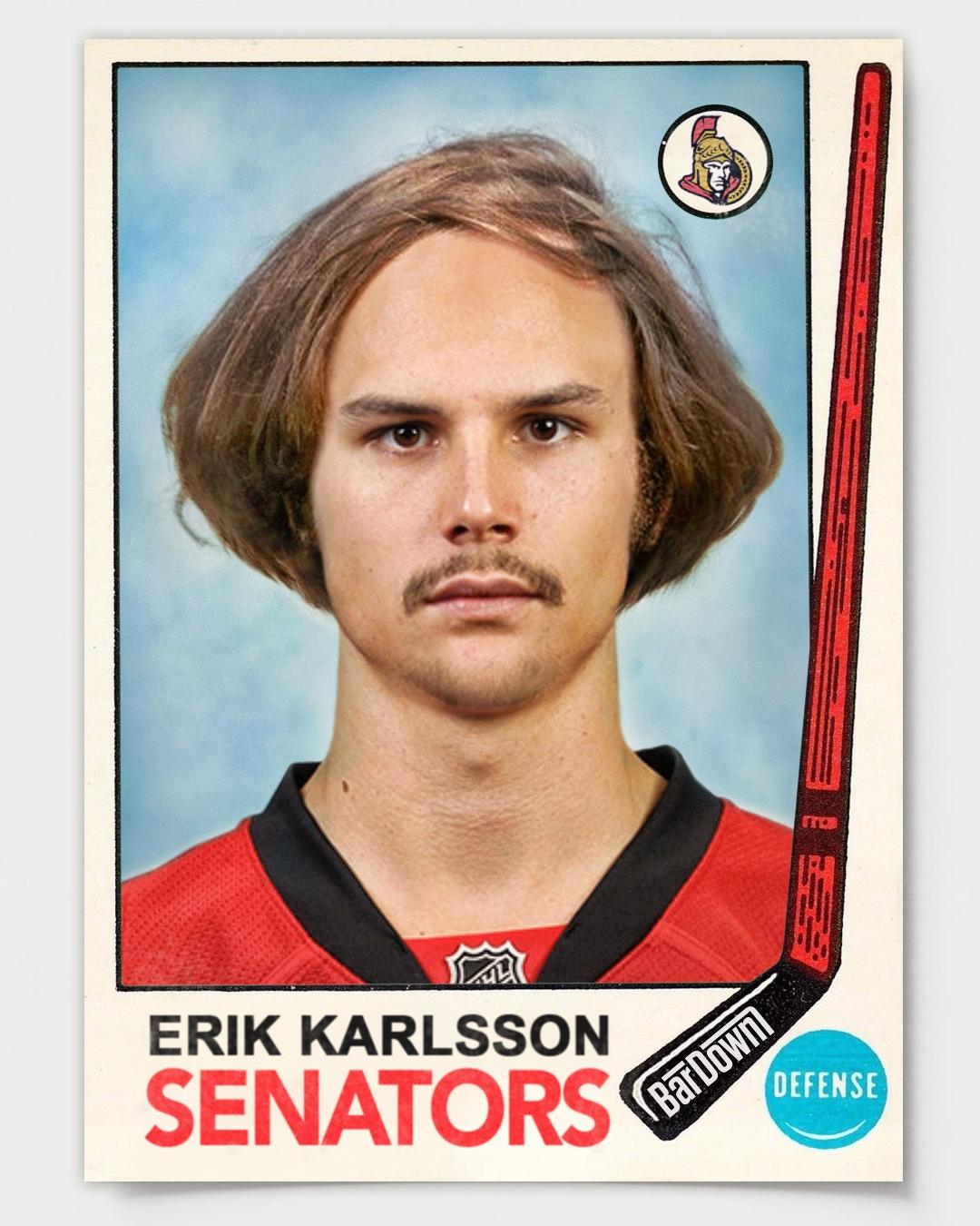L'enfant terrible de retour Erik-karlsson