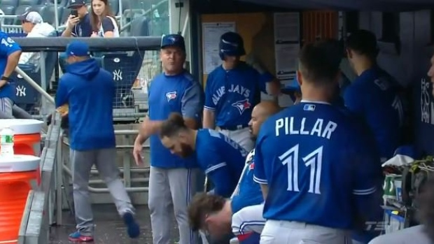 John Gibbons and Kevin Pillar