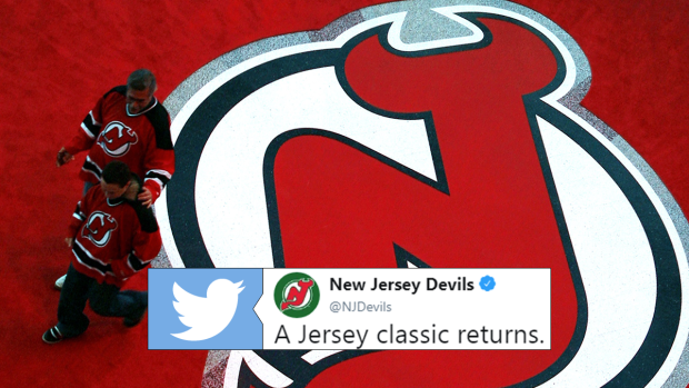 more photos b9b3e 2493d The New Jersey Devils are bringing back a vintage jersey for ...