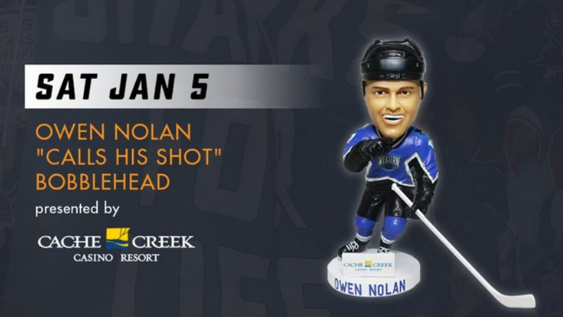 871b5277209 The Sharks are giving away an iconic bobblehead centered around one ...