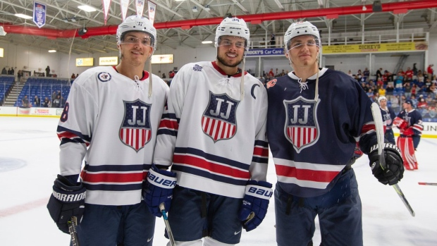 separation shoes ad81e 3a08f Auston Matthews showed off his world-class release with a ...