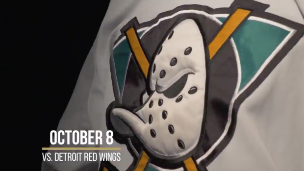 aca7db0b4 Anaheim's bringing back a number of classic 'Mighty Ducks' jerseys ...