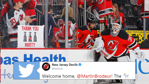 Martin Brodeur Is Returning To The New Jersey Devils In A Brand New
