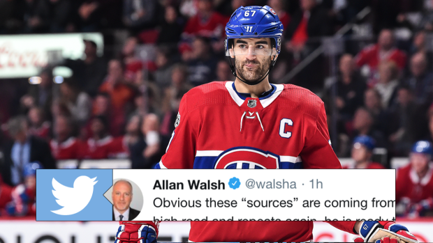 Max Pacioretty's agent called out the Canadiens on Twitter